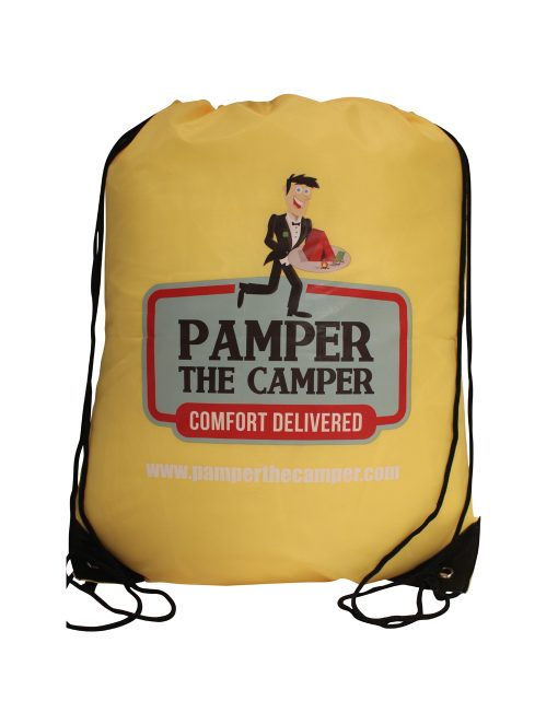 pamper-pack-yellow - Festival Camping Gear - Pamper The Camper