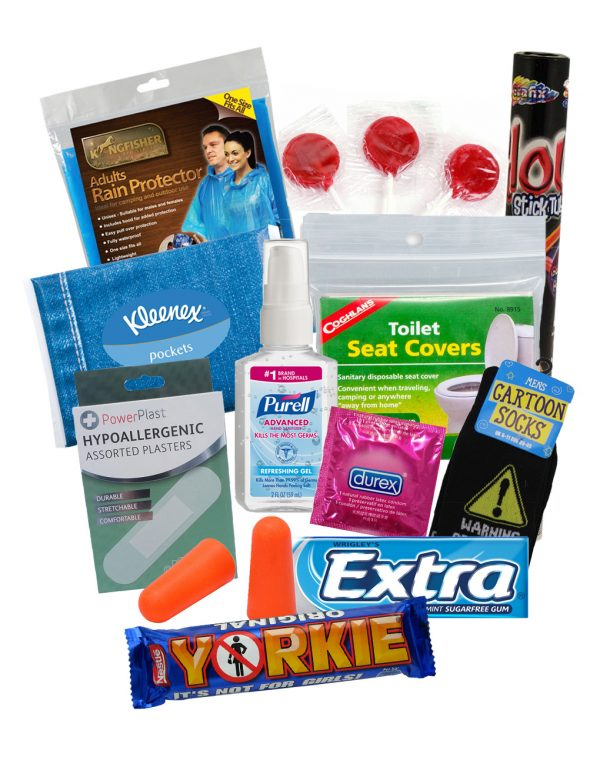 gentelmen-pamper-pack-bathroom - Festival Camping Gear - Pamper The Camper