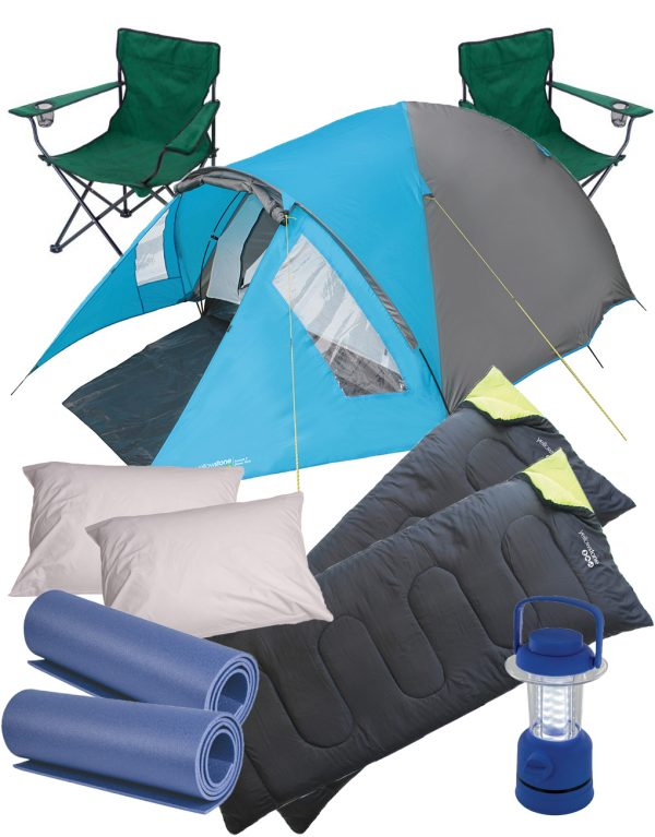 2 peson Ascent 6 - Festival Camping Gear - Pamper The Camper